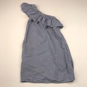Beachlunchlounge Cotton One Shoulder Sun Dress